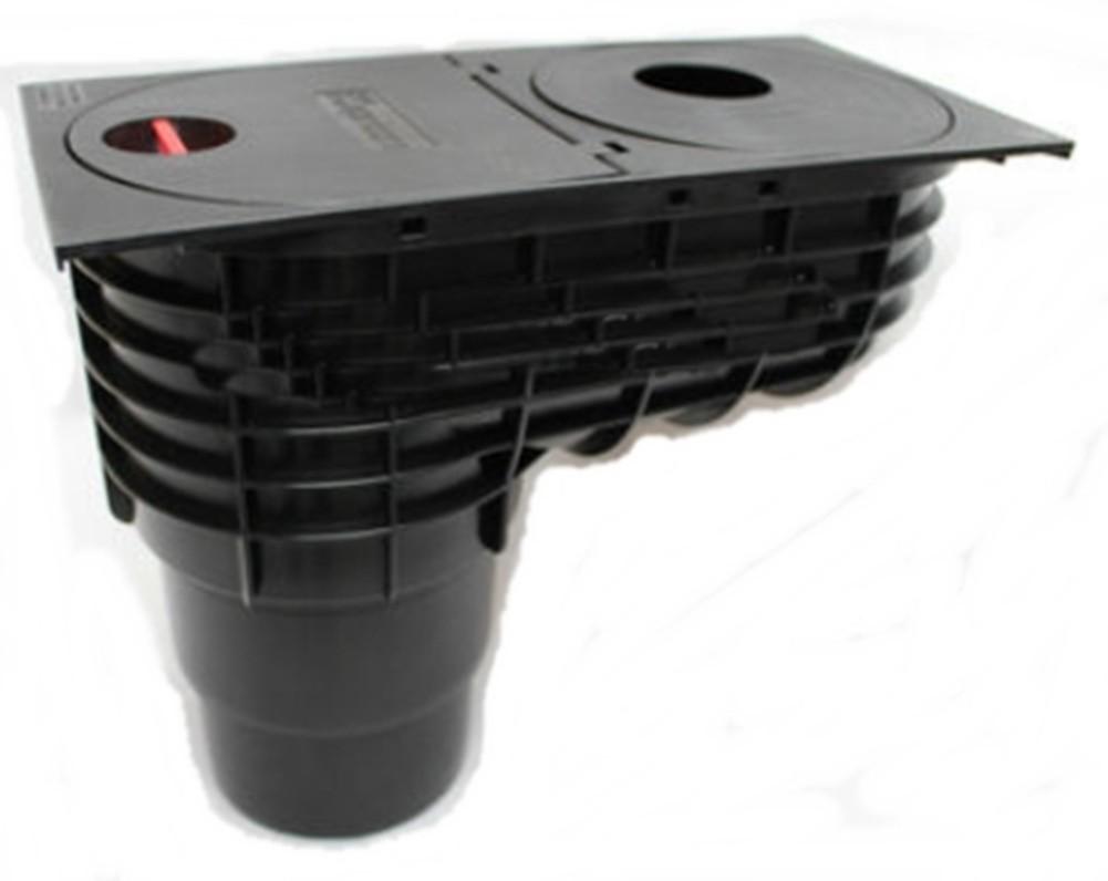 Cassetta acqua piovana tubo drenaggio dell 39 acqua scarico for Tubo di scarico del riscaldatore dell acqua